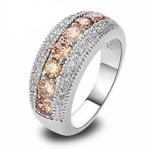 Beautiful 925 Sterling Silver Engagement Ring